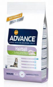 Advance Croquettes pour Chat Contrôle des Boules de Poils Dinde et Riz 1,5 kg de la marque Advance image 0 produit