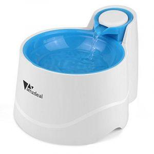 Amzdeal Distributeur de L'eau Automatique pour Chien/Chat, Fontaine de Filtre d'Eau Recyclable pour Animaux Domestique - Bleu de la marque Amzdeal image 0 produit