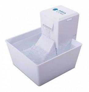 Aqua Cube Fontaine pour Animaux 1.2L en Plastique sans BPA - pour Chat / Petit Chien, Petite et Compacte, avec Filtre à Charbon et Filtre en mousse de la marque PetSafe image 0 produit