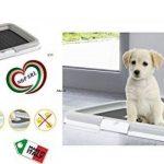 Cadre de rechange + bâton pour bac à litière pour animaux domestiques (chats, chiens) gris de la marque INCARTAMI-ITALIA image 4 produit