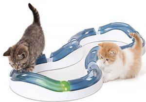 Catit Aire de Jeux Super Roller Grand Huit avec Balle Lumineuse pour Chat de la marque Cat it image 0 produit