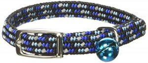 Coastal Pet Products Ccp7721blu Li'L Pals élastique réfléchissant réglable Collier de sécurité Chaton avec cloches, Bleu de la marque Coastal Pet image 0 produit