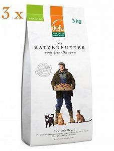 defu Bio croquettes premium Volaille - pour les chats adultes - 3x3kg de la marque Defu image 0 produit