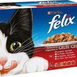 Felix Emincés en Gelée Viandes-Poissons - 12 x 100 g - Sachets repas pour Chat Adulte - Lot de 6 de la marque Felix image 1 produit