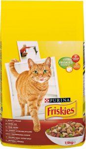 Friskies Chat Croquettes pour Chat Adulte Bœuf/Poulet & Légumes Ajoutés 7,5 kg de la marque Friskies Chat image 0 produit