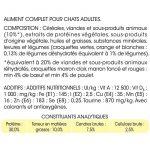 Friskies Chat Croquettes pour Chat Adulte Bœuf/Poulet & Légumes Ajoutés 7,5 kg de la marque Friskies Chat image 1 produit