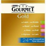 Gourmet Gold Les Mousselines Multivariétés - 24 x 85 g - Boîtes pour Chat Adulte - Lot de 4 de la marque GOURMET image 2 produit