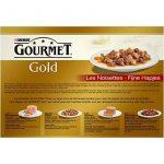 Gourmet Gold Les Noisettes - 12 x 85 g - Boîtes pour Chat Adulte - Lot de 8 de la marque GOURMET image 2 produit