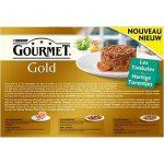 Gourmet Gold Les Timbales :Multi Variétés aux Légumes- 12x85g - Boîtes pour Chat Adulte - Lot de 8 de la marque GOURMET image 1 produit