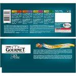 Gourmet Perle Les Duos de Viandes Multivariétés - 4 x 85 g - Sachets Fraîcheur pour Chat Adulte - Lot de 12 de la marque GOURMET image 1 produit