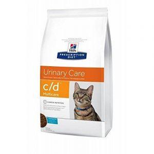 Hill's Prescription Diet Feline C/D Troubles Urinaires Nourriture pour Chat Croquettes 1.5kg Poisson de la marque Hill's image 0 produit