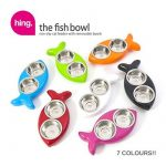 Hing Fish Shaped Cat Bowl (Colour: Red) de la marque Hing image 2 produit