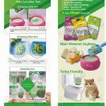 Litière de tofu pour chat. de la marque Green Pet Care Co image 1 produit