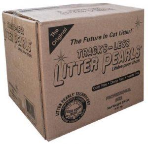 Litter Pearls Tracksless Gel de Silice Litière pour Chat 9 kg de la marque Litter Pearls image 0 produit