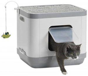 Notre meilleur comparatif de : Tapis de maison de toilette pour chat TOP 1 image 0 produit