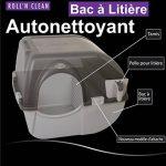 Omega Paw - Roll'n Clean - Bac à litière autonettoyant - Chat plus de 6 kgs de la marque Omega Paw image 3 produit