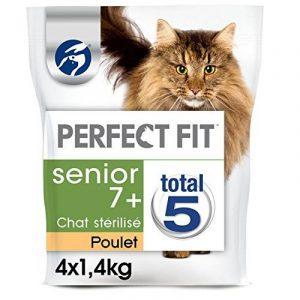 PERFECT FIT SENIOR STERILISE - Croquettes au poulet pour chat 1,4kg - lot de 4 (5,6kg) de la marque Perfect Fit image 0 produit