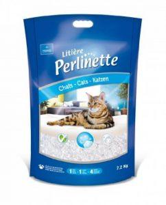 Perlinette Litière en Cristaux Silice pour Chat 7,2 kg de la marque Perlinette image 0 produit