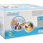 PetSafe - Fontaine à eau pour animaux 360° Drinkwell en Acier Inoxydable Capacité 3.8L, 5 Jets d'eau Cascade, Idéal pour Plusieurs Chiens et Chats de la marque PetSafe image 1 produit