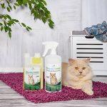 Produit Nettoyant et Eliminateur d'odeur Bio pour Chats Ecosharkz Animal - Spray désodorisant anti urine pour intérieurs avec chat et litière - Concentré de 50ml - jusqu'à 2L de solution nettoyante de la marque Ecosharkz image 2 produit