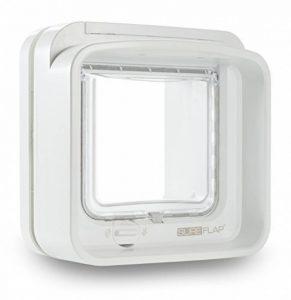 Sureflap Chatière à Puce Électronique Dualscan pour Chat - Blanc de la marque SureFlap image 0 produit