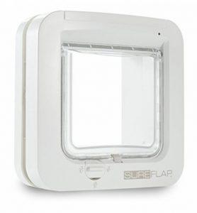 Sureflap Chatière à Puce Électronique pour Chat - Blanc de la marque SureFlap image 0 produit