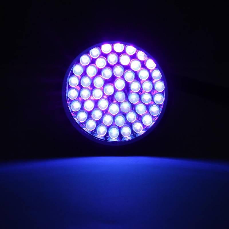 UV Torche DEL Lumière Noire Lampe torche Ultraviolet 395 Presque comme neuf Pet Urine Détecteur de taches