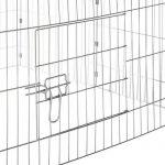 TecTake Cage enclos à lapin extérieur avec protection pare-soleil toit | LxlxH: 180 x 75 x 75 cm | Vert de la marque TecTake image 3 produit