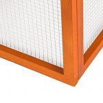 TecTake Cage enclos pliable XXL à lapins lièvre cobaye (LxlxH): 159 x 110 x 55 cm de la marque TecTake image 5 produit