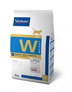 Virbac Vet HPM Diet - chat - W1 Weight loss & diabetes - 3 kg de la marque Virbac Veterinary HPM image 0 produit