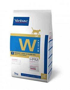 Virbac Vet HPM Diet - chat - W1 Weight loss & diabetes - 3 kg de la marque Virbac Veterinary HPM image 0 produit