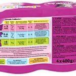 Whiskas boîtes de terrines aux viandes pour chat junior 4x400g - Lot de 6 (24 Boîtes) de la marque Whiskas image 2 produit