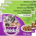 Whiskas Fraîcheur en Gelée pour Chaton 12 x 100 g 4 Sachets - Lot de 4 de la marque Whiskas image 3 produit
