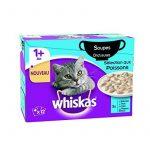 Whiskas Soupe au Poisson pour Chat 12 x 85 g (4 boites) de la marque Whiskas image 1 produit
