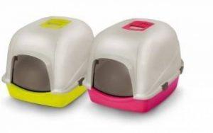 XXL capot Litière Maison Toilette avec pelle pour chat et filtre 56x 70x 46cm de la marque EBI image 0 produit