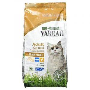Yarrah Bio croquettes au poulet et poisson sans céréales pour chat 800 grs de la marque Yarrah image 0 produit
