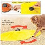 Yosoo Jouet de chat chaton 4 vitesses en bouche souris caché électronique interactif Jaune de la marque Yosoo image 5 produit
