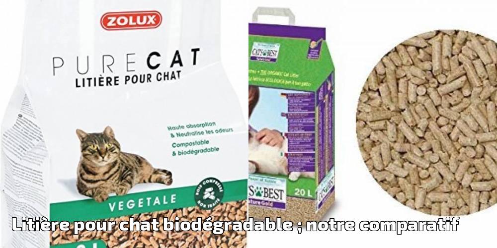 litiere chat comparatif